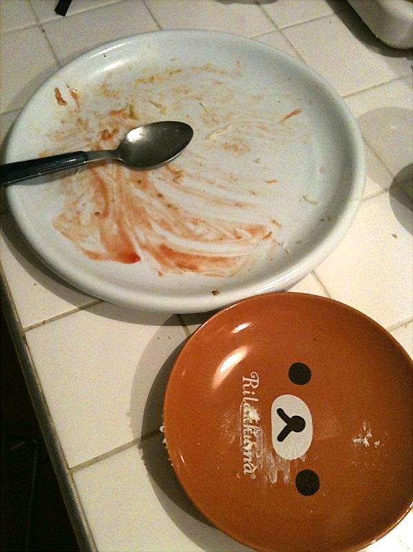 バースデーディナー その後
